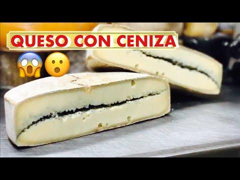 QUESO MORBIERE(QUESO CON CENIZA ) QUESO AUTÉNTICO DE FRANCIA, morbiere cheese from France