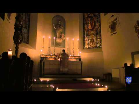 Rorate Mass Basilique Notre-Dame, Fribourg, Suisse