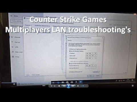 Counter Strike LAN Multiplayer's Troubleshooting