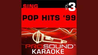Last Kiss (Karaoke Instrumental Track) (In the Style of Pearl Jam)