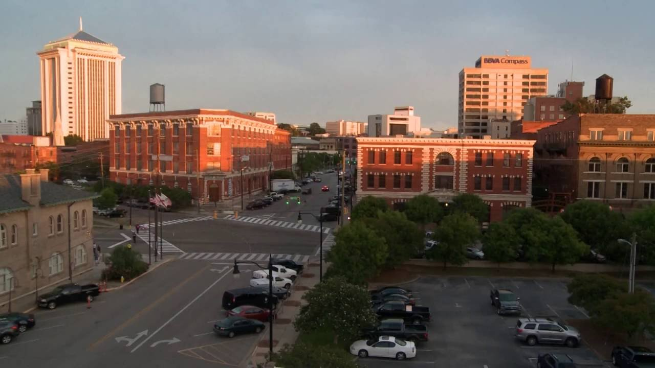 TIMELAPSE OF DOWNTOWN MONTGOMERY, ALABAMA - YouTube