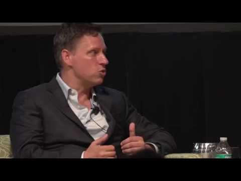 American Dream Reconsidered 2016: A Conversation with Peter Thiel