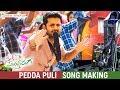 Pedda Puli Full Song Making | Chal Mohan Ranga Movie Songs | Nithiin | Megha Akash | Thaman S