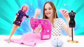 Барби открыла магазин одежды. Видео для девочек: Будет исполнено.