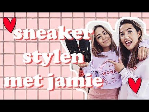 ZO STYLE IK ZWARTE SNEAKERS - Sneaker stylen met Jamie #3
