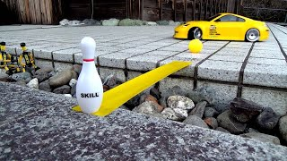 Remote Control Car Shows Off Drifting Skills