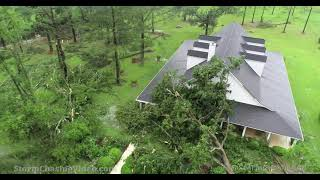 4K Tornado Aftermath from the drone -  Blakely, GA - 6/19/2021