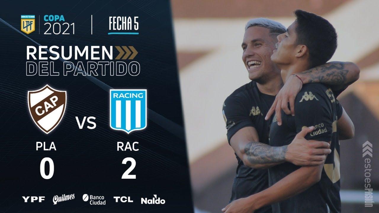 Copa De La Liga | Fecha 5 | resumen de Platense - Racing