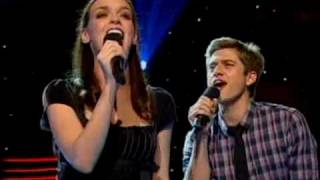 "Next to Normal - ""Superboy and The Invisible Girl"" w/Jennifer, Alice & Aaron @ pre-Tony concert"