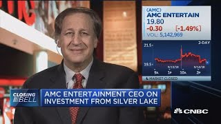 AMC Entertainment CEO on $600M investment from Silver Lake
