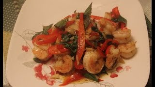 Thai Shrimp Basil Recipe
