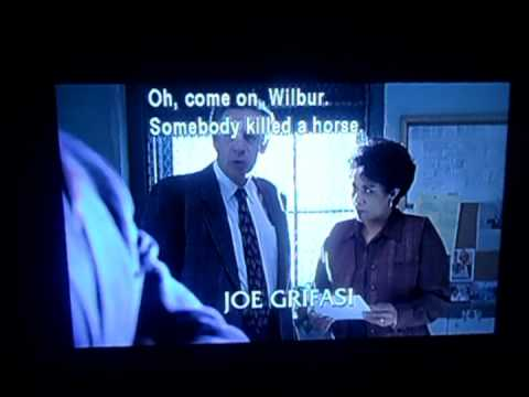Hilarious Jerry Orbach moment in Law and Order