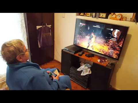 Abuela Gamer ARG - Witcher 3 - PS4
