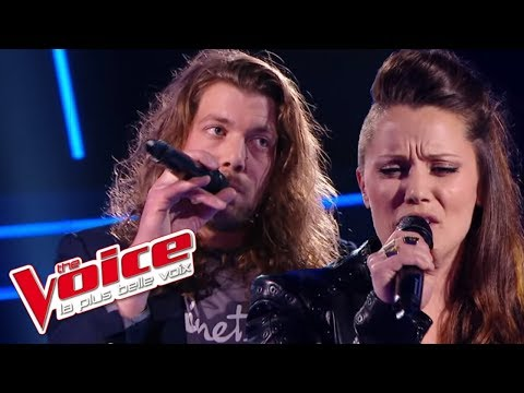 Florent Pagny – Chanter | Jérémie Clamme VS Julie Moralles | The Voice France 2016 | Battle