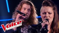 Florent Pagny – Chanter   Jérémie Clamme VS Julie Moralles   The Voice France 2016   Battle