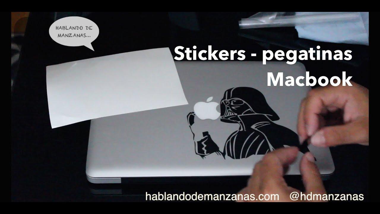 Stickers y pegatinas para un ordenador Mac