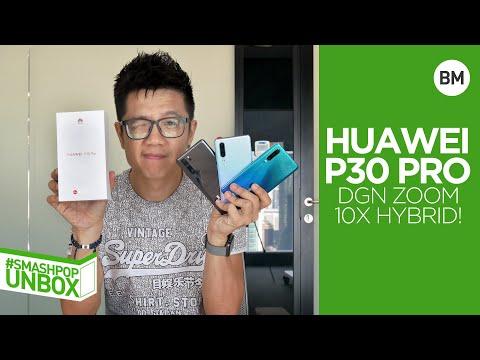 Buka Kotak HUAWEI P30 Pro Dgn 10X Zoom Hybrid! #smashpopunbox | Smashpop