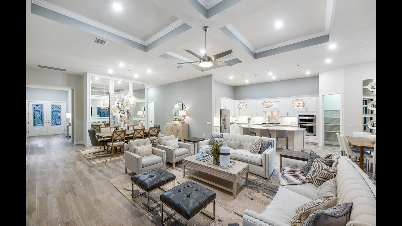 New Homes by Del Webb  Stonewater Floor Plan  YouTube