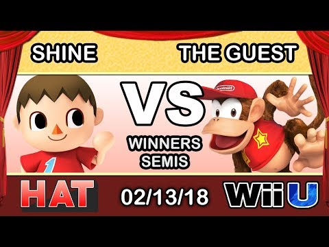 HAT 9 - LH | ShiNe (Villager) Vs. The Guest (Diddy Kong) Winners Semis - Smash 4