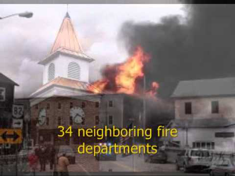 Garrettsville Fire on March 22, 2014 before & after
