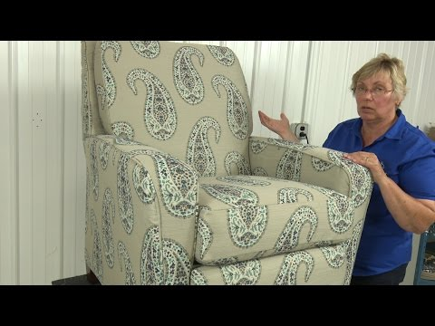 How to Reupholster a Recliner Chair