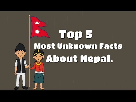 Top 5 Most Unknown facts of Nepal.