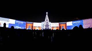 Новогоднее световое шоу в Петербурге