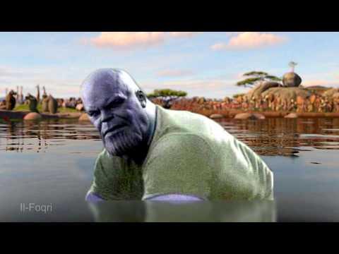 I Think THICC Thanos Likes You - Moto Moto Meme