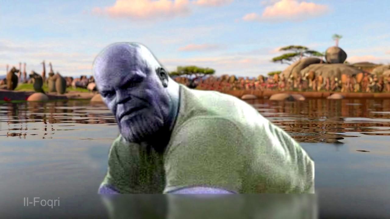 I Think THICC Thanos Likes You - Moto Moto Meme - YouTube
