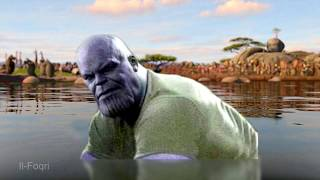 I Think THICC Thanos Likes You - Moto Moto Meme