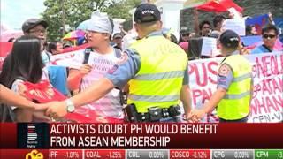 Militant groups stage rally against ASEAN summit in Cebu