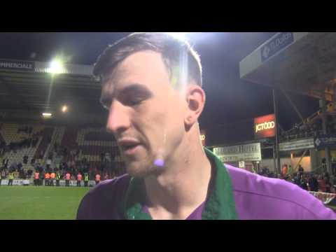 Promotion: Aden Flint Post-Match Interview