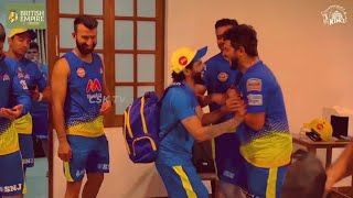 Chennai Super Kings Funny Moments in Dressing Room IPL 2021