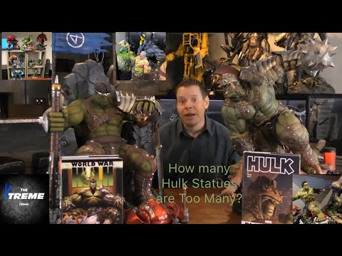 Sideshow Collectibles Gladiator Hulk Exclusive Maquette Review