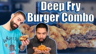 Deep Fry Burger Combo - Handle it