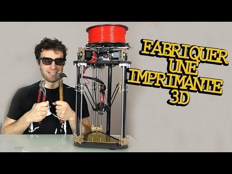 FABRIQUER UNE IMPRIMANTE 3D !