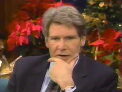 Tonight Show Jay Leno - Harrison Ford - Sabrina - 1995
