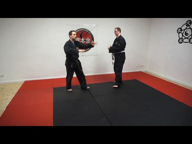 Shutouke als Fingerhebel - Karate Online - Shihonkin Dojo