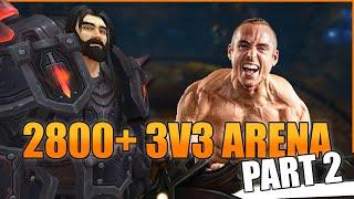 THIS COMP IS INSANE!: 2800+ Warrior 3v3 as WLP (Part 2) - WoW BFA 8.3 Season 4 PvP