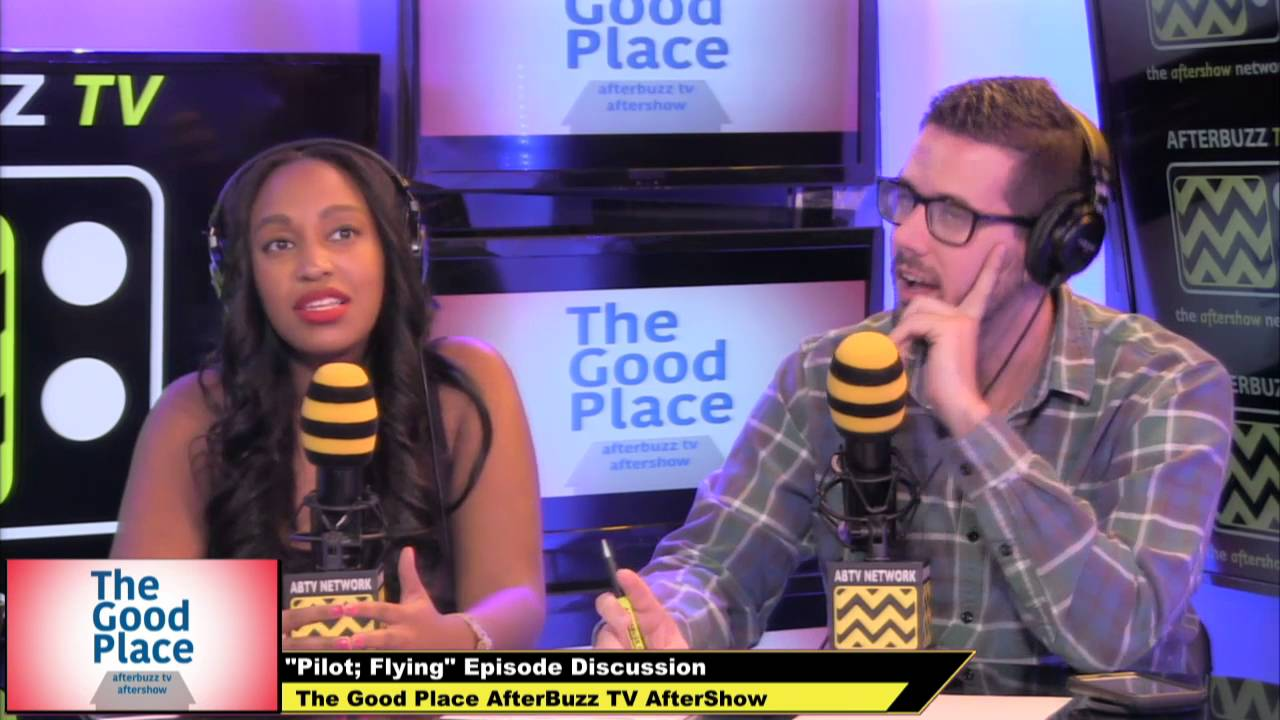 The Good Place Season 1 Episodes 1 & 2 Review & After Show   AfterBuzz TV
