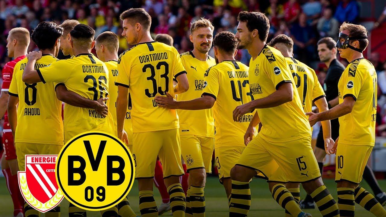 Vier Tore in der 2. Halbzeit | Energie Cottbus - BVB | Highlights