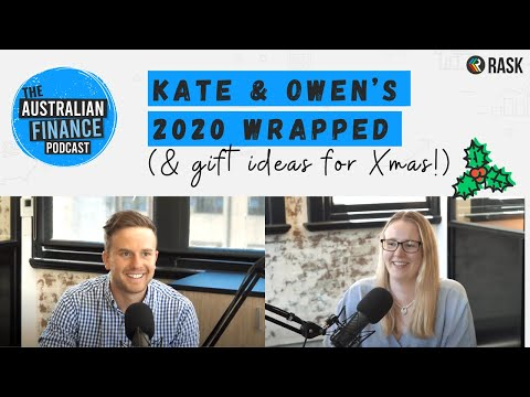 Kate & Owen's 2020 wrapped (and personal finance gift ideas for Christmas!)