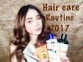 HAIR CARE ROUTINE 2017 | COLOURED FRIZZY DRY HAIR | SADDY AULIA