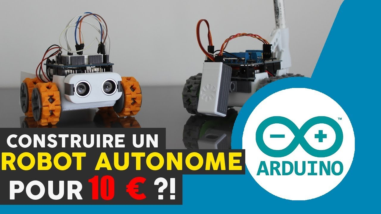 comment fabriquer un robot autonome avec un arduino. Black Bedroom Furniture Sets. Home Design Ideas