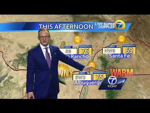 Byron Morton's Tuesday Weather Forecast