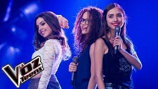 Vera, Valentina y Mariana cantan 'Locked out of heaven' | Batallas | La Voz Teens Colombia 2016