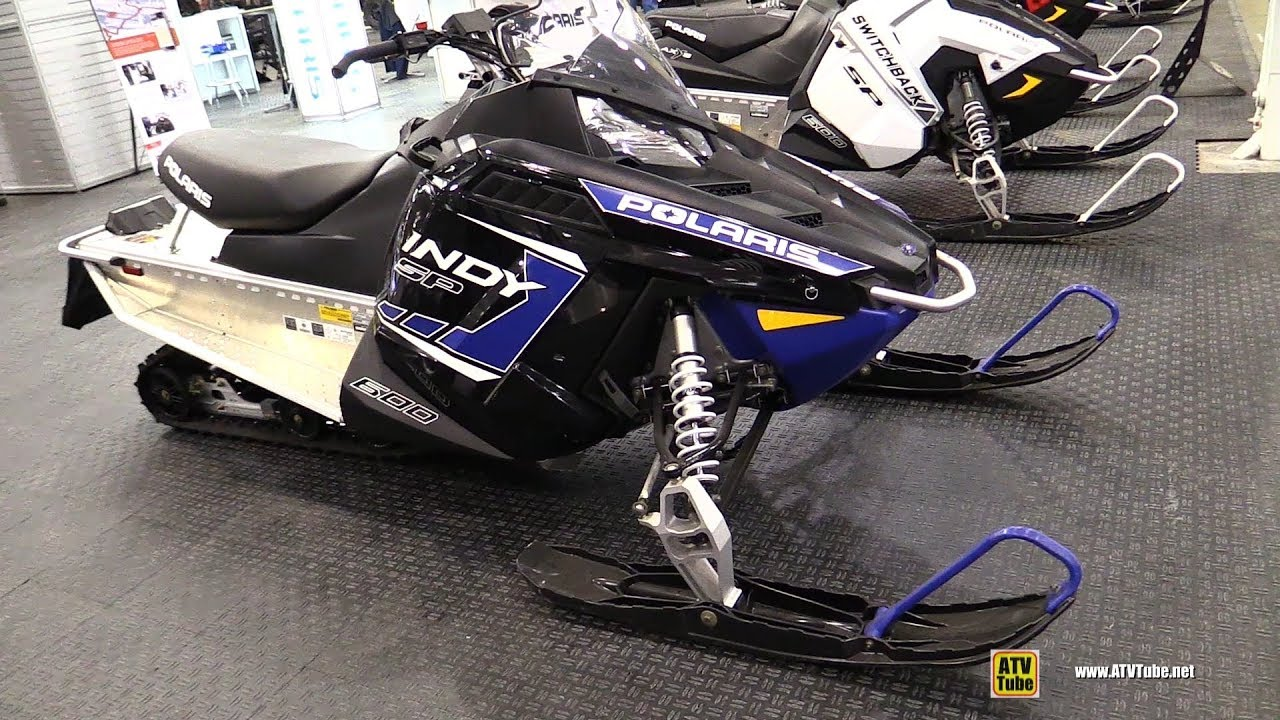 2018 Polaris Indy Sp 600 Sled Walkaround 2017 Toronto Snowmobile Atv Show