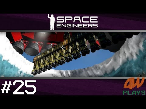 Space Engineers: Survival Mode Let's Play | S2 #25 | Large Scale Mining