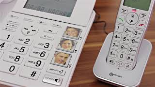 Produktvideo zu Seniorentelefon Geemarc AmpliDECT 295 COMBI