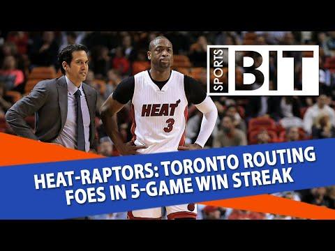 Miami Heat at Toronto Raptors | Sports BIT | NBA Picks
